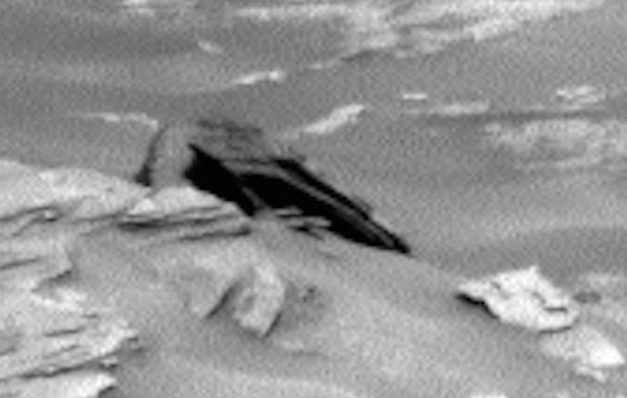 Star Destroyer Found on Mars!
