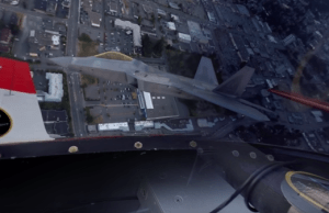 Incredible 360-degree Video of a F-22 Raptor