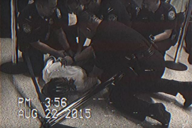 Wiz Khalifa Forced To The Floor and Handcuffed For Riding a Hoverboard