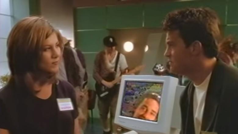 Jennifer Aniston and Matthew Perry Made a Windows 95 Video