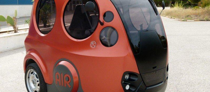 India's First Air Powered Car