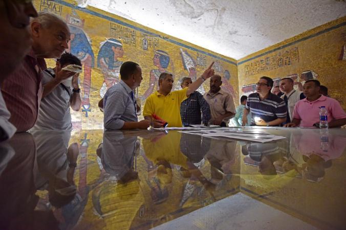 King Tut's Tomb Reveals Hints of Hidden Chambers