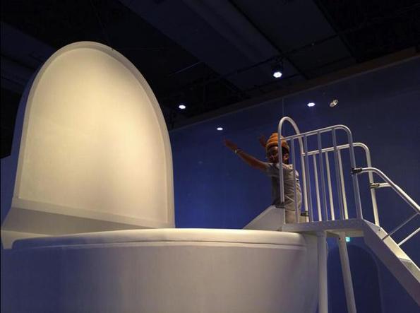Children Dress As Poop & Jump In A Giant Toilet!