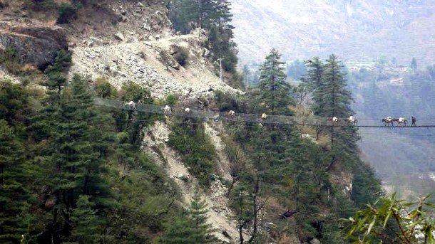 Dangerous Bridges Around The World (10)