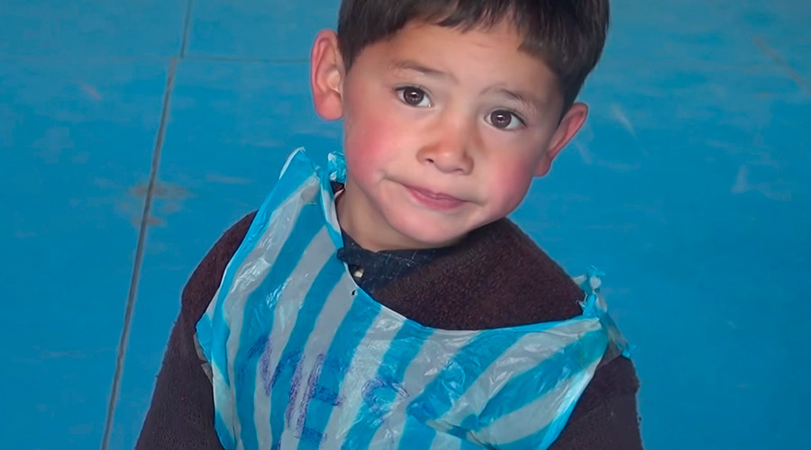 5yo Afghan Boy With Plastic Bag Jersey Will Meet Lionel Messi Soon