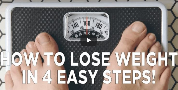 How To Lose Weight In 4 Easy Steps