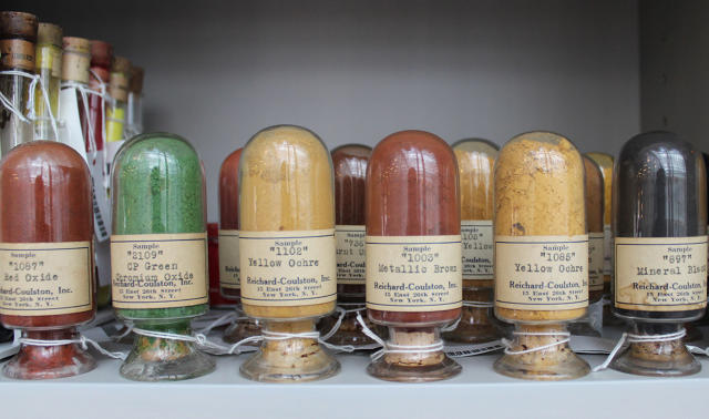 World's Rarest Colors in The Harvard Library
