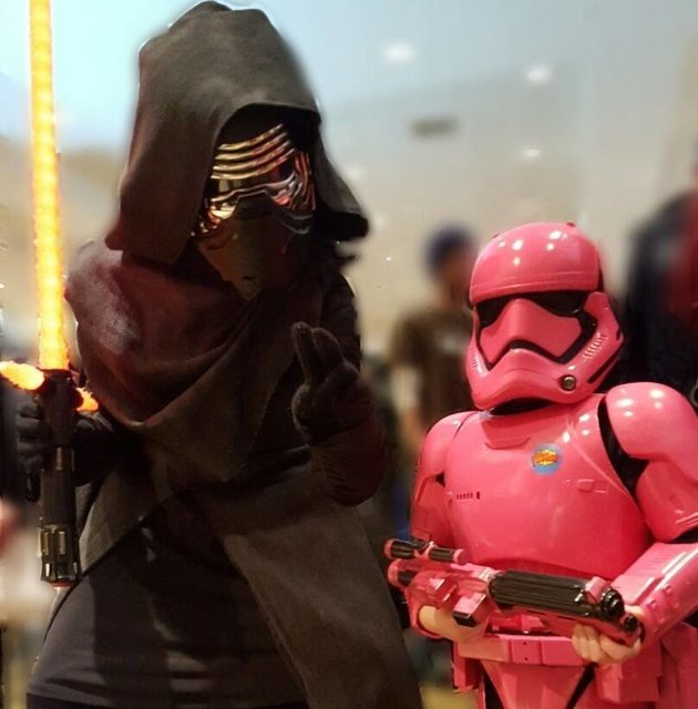 Pink Stormtrooper Costume