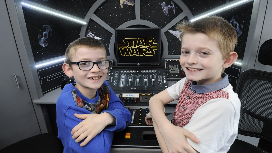Most Awesome 'Star Wars' Themed Kids Bedroom