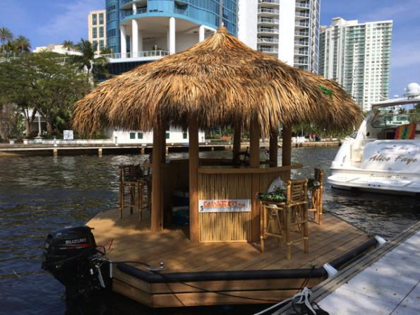 Tiki Bar Boat