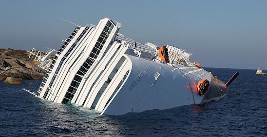 Costa Concordia Cruise Ships After Sinking Photos Are Scary As Hell