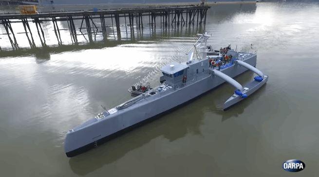 Sea Hunter, US Navy's New Autonomous Warship