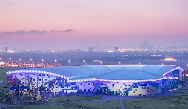 The World's Largest Indoor Theme Park is Opening in Dubai