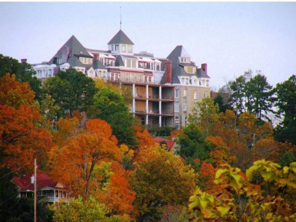 Crescent Hotel In Eureka Springs, Arkansas