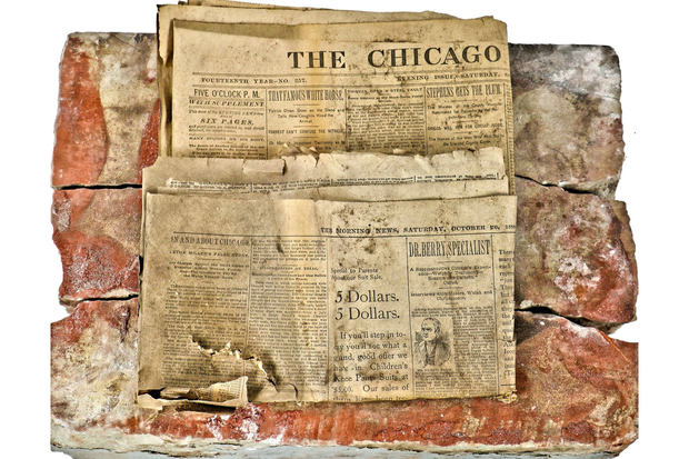 Time Capsule From 1889 Discovered