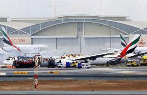 Dramatic Footage Shows Emirates Plane Crash Landing At Dubai Airport