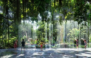 First Luxury Hotel With The Rainforest Inside
