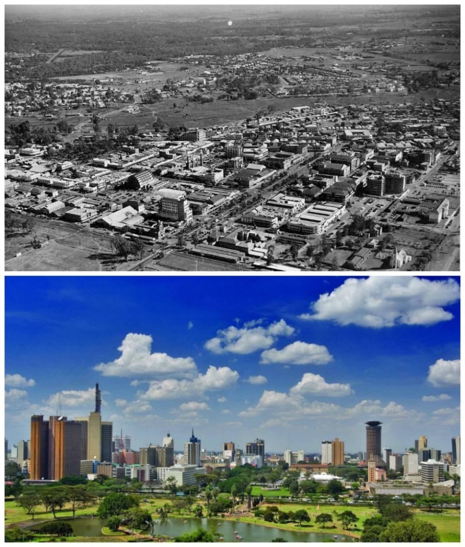 Nairobi, Kenya: The 1960s and now