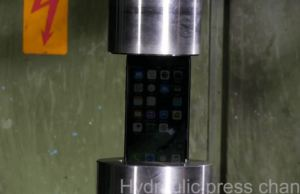 iphone 7 under hydraulic press