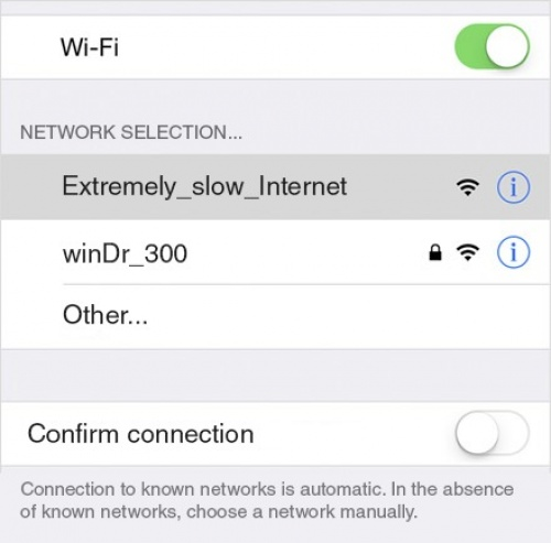 Hilarious Wi-Fi Network Names