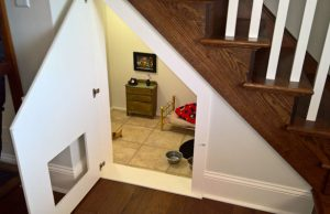 Chihuahua Has A Room Under The Stairs Just Like Harry Potter