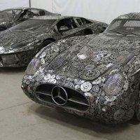 12 Stunning Scrap Metal Supercars