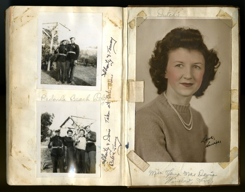 Diary in World War II Museum