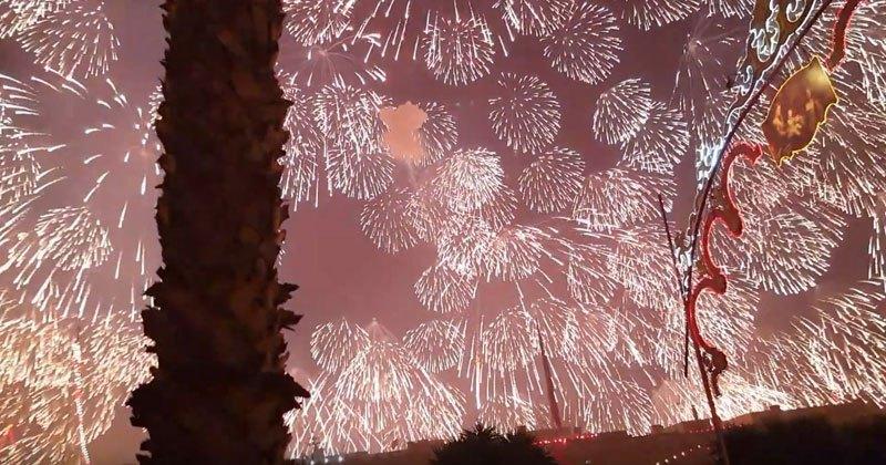 Biggest Single Firework Display in Malta