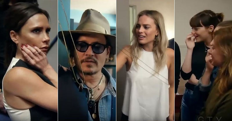 David Blaine Doing Insane Tricks To Margot Robbie, Emma Stone, Johnny Depp and More