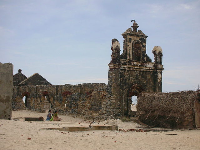 church in Dhanushkod