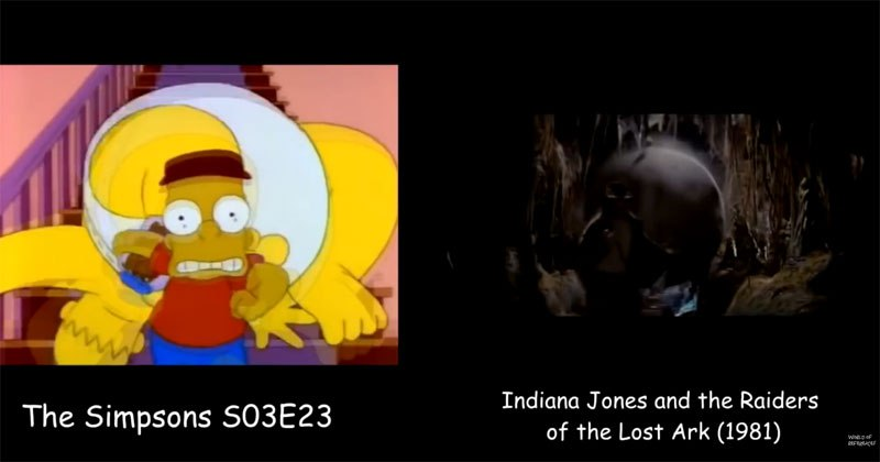 Movie Reference in The Simpsons
