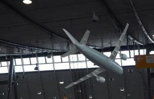 Huge Airbus Model