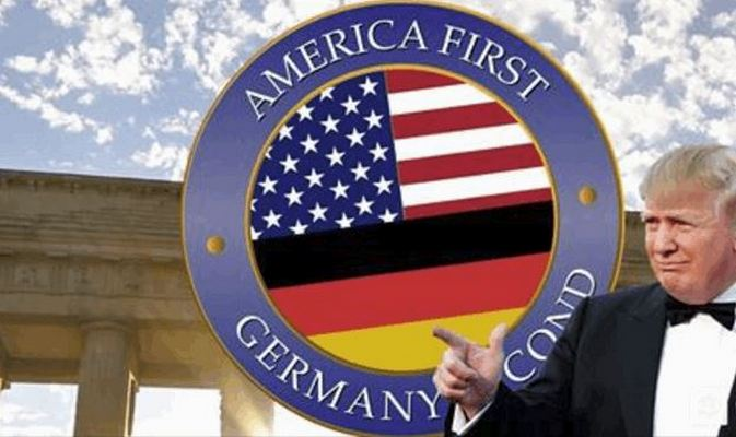 America First, Germany Second!