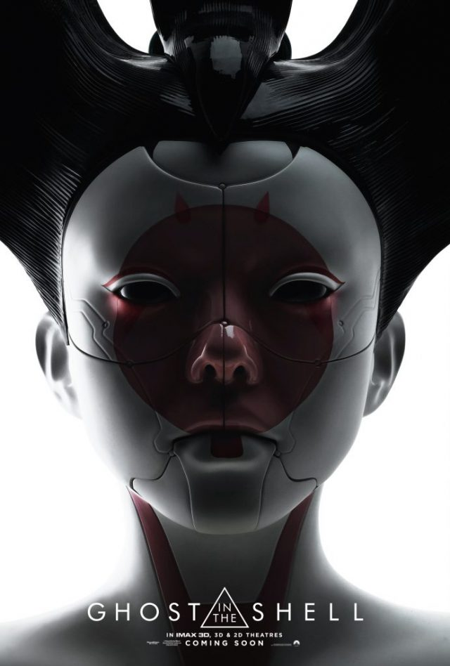 Ghost In The Shell Posters Featuring Scarlett Johansson And The Geisha Unshootables
