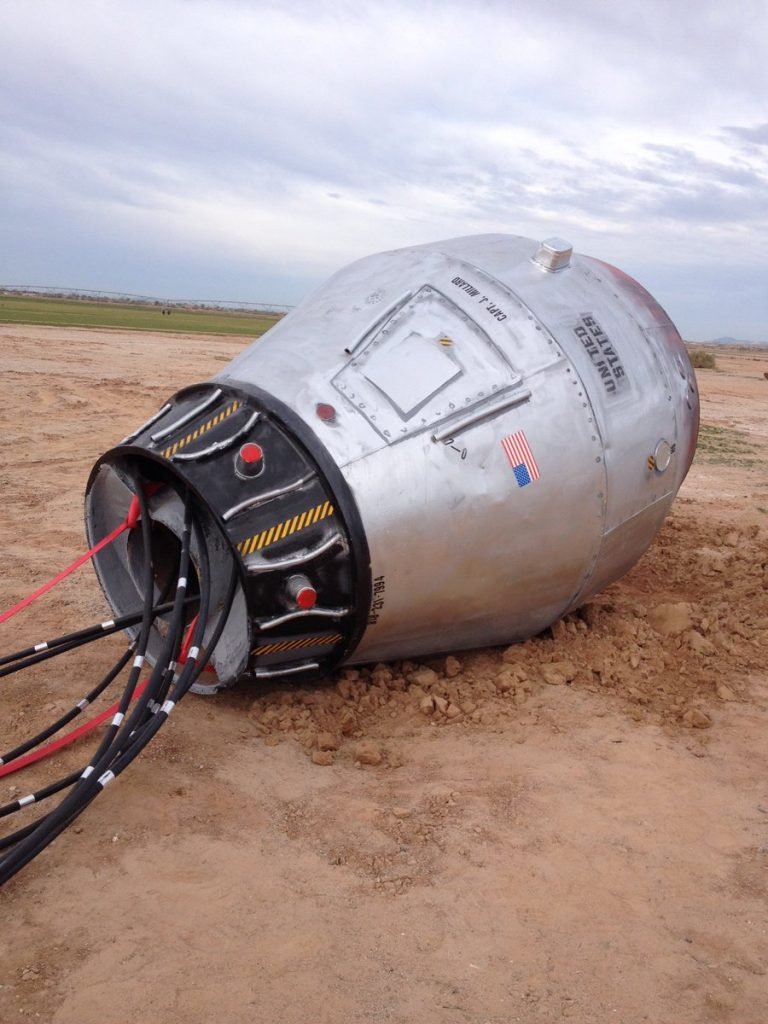 "Mysterious ""Space Capsule"" Found In Arizona Desert Baffled NASA Scientists"