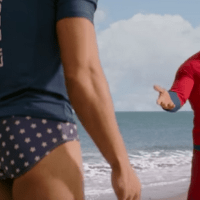 "Zac Efron's Butt Is The Main Thing In The New ""Baywatch"" Trailer"