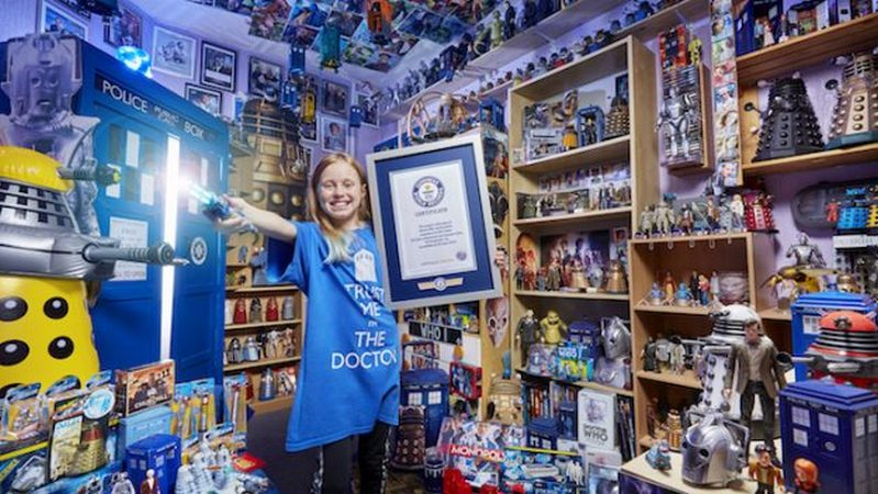 13-Year-Old's Largest Collection of Doctor Who Memorabilia