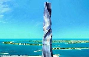 Rotating Dubai Skyscraper