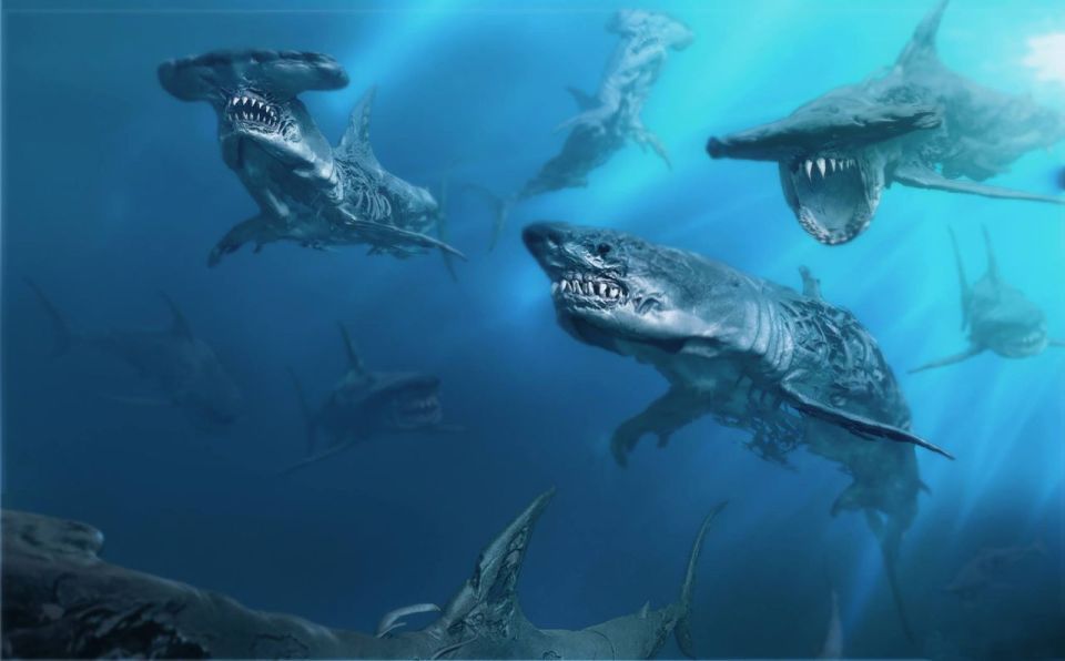Pirates of the Caribbean 5 Ghost Sharks