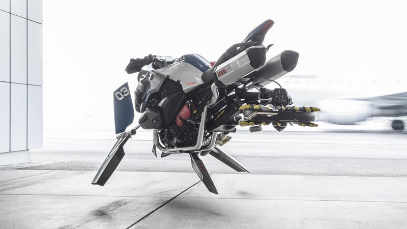 BMW Designers Made a Hover Bike Out of LEGO