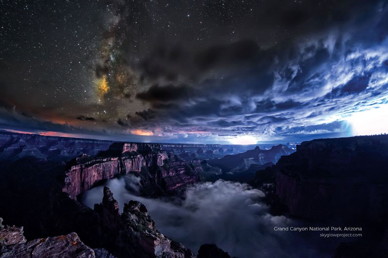 America's 24 Most Glorious Darkest Skies