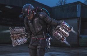 Iron Man Flying Suit