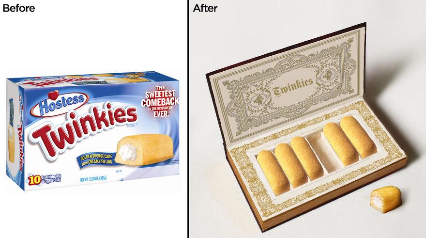 Artist Repackage Junk Food