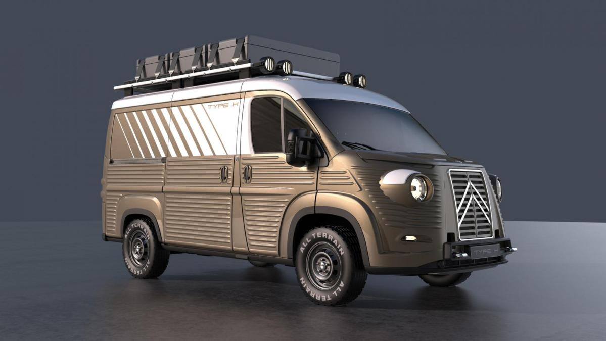 Citroen H Van is Making a Come Back With Modern Features
