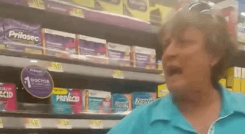 Shopper Launches Into Racist Rant At Walmart