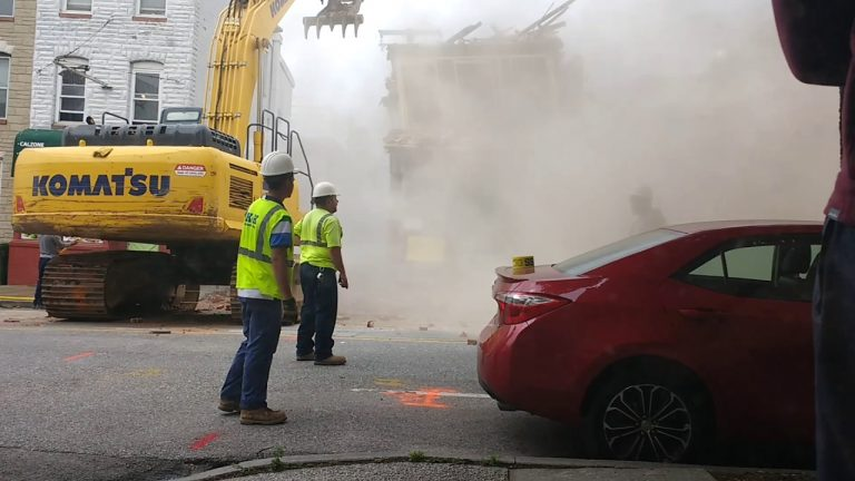 Demolition Crew Destroy The Wrong Building And Instantly Realize The Mistake