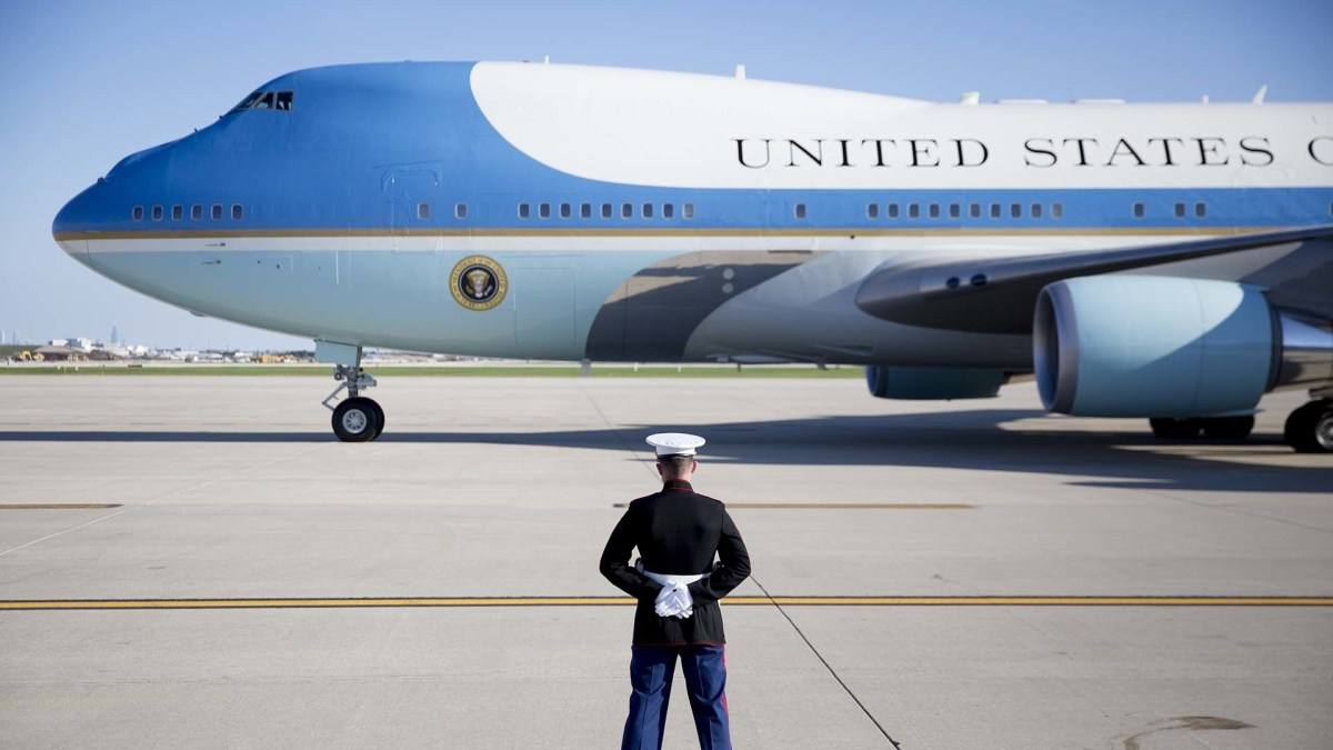 $4 Million Damage To Air Force One is Confirmed By US Air Force