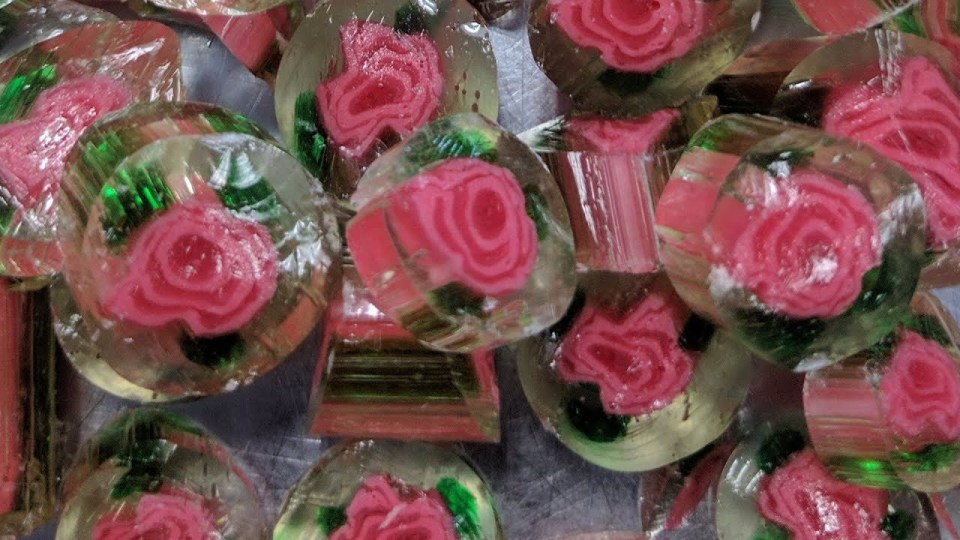 Crystal Rose Candy