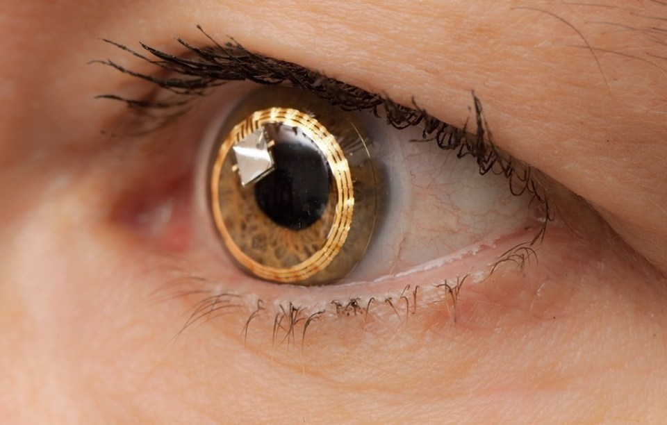 Sony Contact Lenses