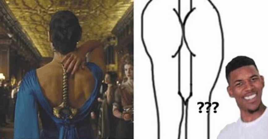 7 People Trying To Hide Swords In Their Gowns Like Wonder Woman